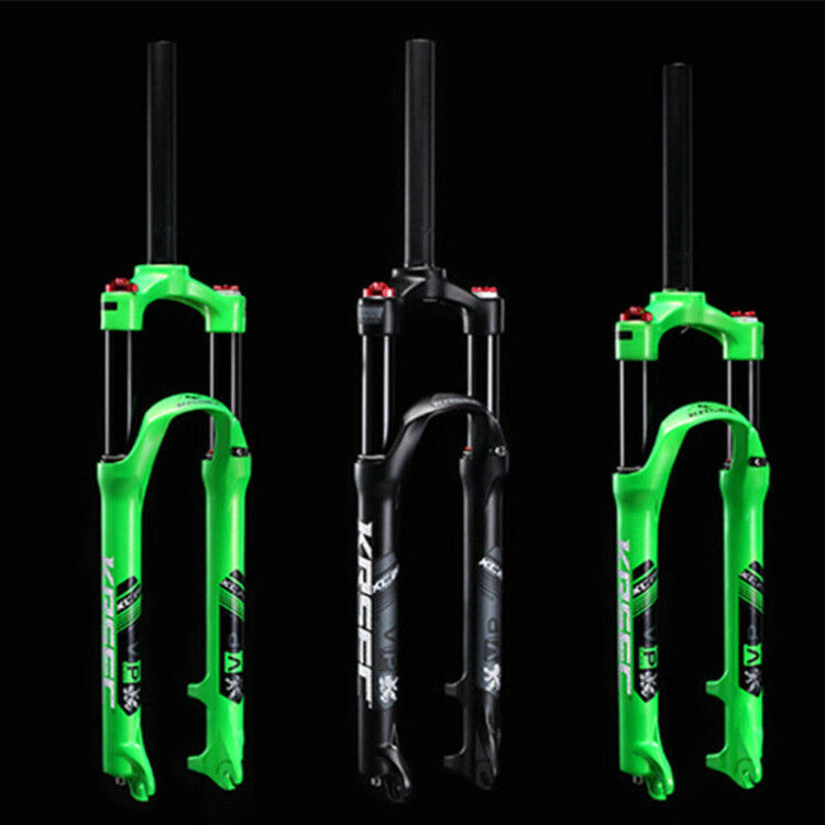 1-1 8'' Suspension Fork Threadless for 26  27.5  Mountain Bike Bicycle Cycling