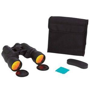 Rouge-Rubis-Revetu-Lentilles-Jumelles-10x50-W-Etui-Cou-Sangle-Chasse-Vue-Voir