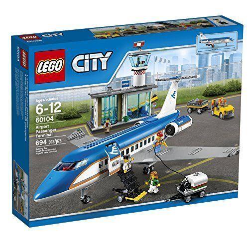 Lego 60104 City Airport Passenger Terminal 694pcs