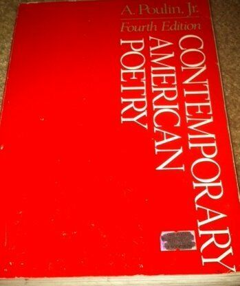 Contemporary American Poetry By A Jr Poulin 1985 Paperback Ebay