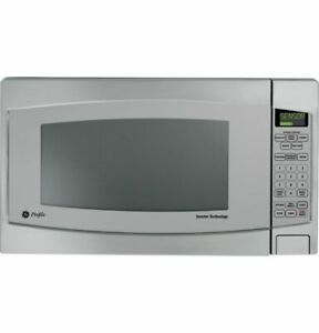 GE Profile 2.2 cu. ft. Countertop Microwave in Stainless Steel with Defrost