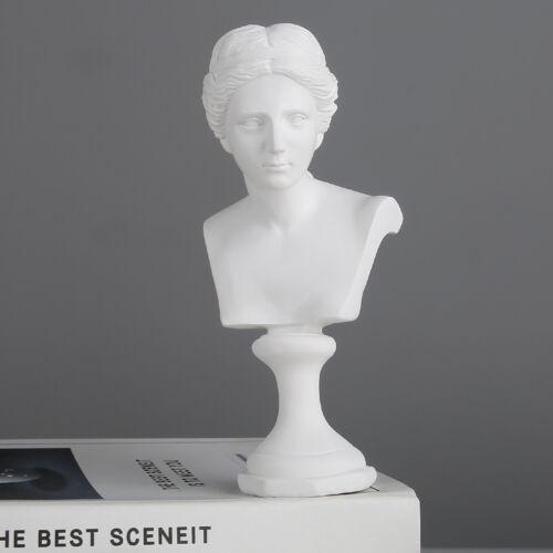 6 Inch Venus de Milo Resin Bust Statue Replica Sculpture Figurine Desktop Decor