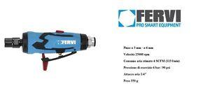 FERVI 0413 Mini smerigliatrice pneumatica assiale