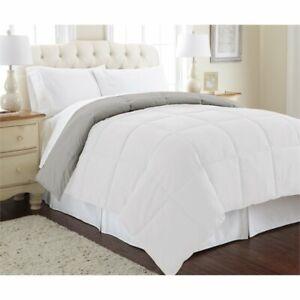 Down-alternative-reversible-comforter-white-gray-king