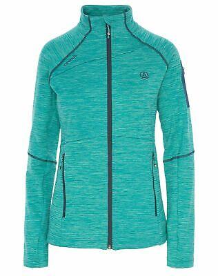 Ternua Damen Ziptop Momhil Top Halfzip Gr. S M L grün Skipullover Sweatshirt