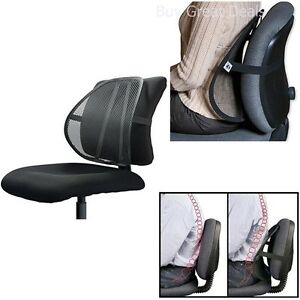 lumbar support for office chair car mesh back pain relief posture