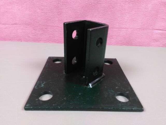 B-Line B280 08035 Angled Metal Post Base Unistrut Foot Bracket NOS Skubcs2