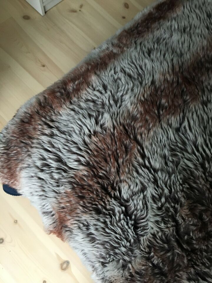 Plaid, Kunst pels/fleece, b: 140 l: 200