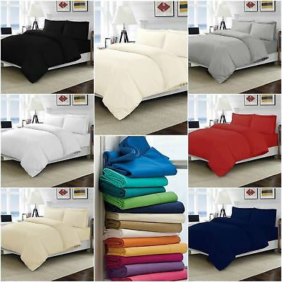 1000TC 100/%Egyptian Cotton 1PC Fitted Sheet Queen Size All Solid//Stripe Color