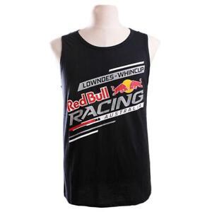 Red-Bull-Racing-Australia-Mens-Singlet-Navy-Size-S-3XL