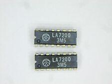 "LA7200  ""Original"" Sanyo  16P DIP IC  2  pcs"