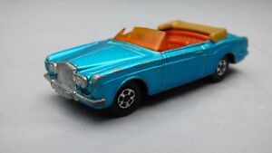 Vintage-1969-Lesney-Matchbox-Superfast-N-69-Rolls-Royce-Plata-Sombra-Coche-de-juguete