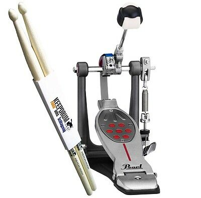 Pearl P-2050C Eliminator Redline Einzelpedal keepdrum Drumsticks