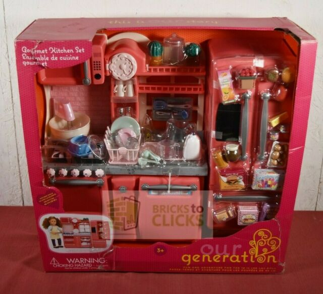 "Our Generation Wooden Dollhouse Home Sweet Home NEW NIB Fits 18/"" Dolls Battat"