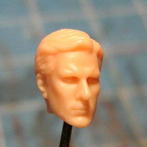 """MH132 Custom Cast Male head for use with 3.75/"""" GI Joe Star Wars Marvel figures"""