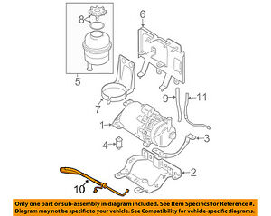 image is loading mini-oem-02-11-cooper-power-steering-pressure-