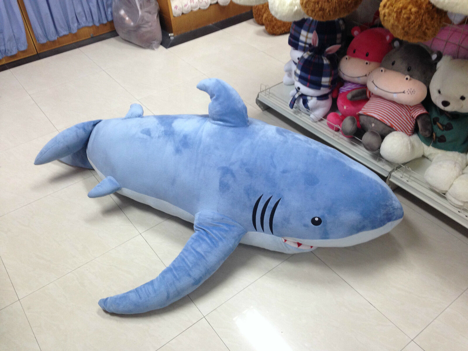 Giant Shark Pillow Excellent Cute Thicken Shark Blanket By Blankie