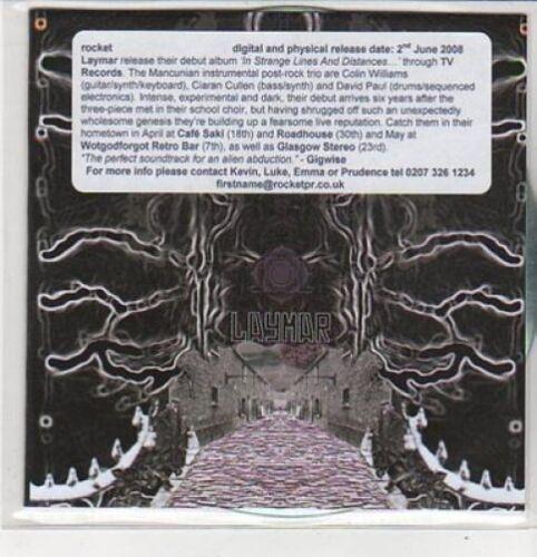 1 of 1 - (CZ507) Laymar, In Strange Lines And Distances sampler - 2008 DJ CD