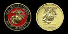 Challenge Coin - USMC Parris Island Marines USMCRD