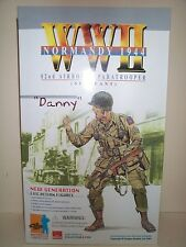 DRAGON 12 INCH WWII US ARMY 82nd.AIRBORNE DIVISION SERGEANT DANNY NORMANDY 1944