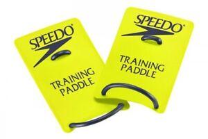 Speedo-Training-Paddles-Swim-Fitness-Accessory-Large-Yellow