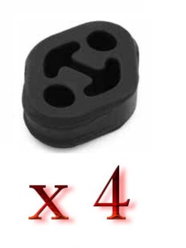 4 x MERCEDES VIANO W639 VITO MIXTO W639 Auspuff Gummi Halter KFZ