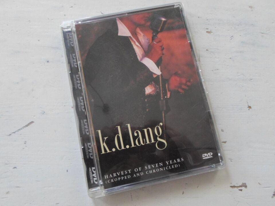 K.D. LANG Harvest of seven years, instruktør KD LANG, DVD