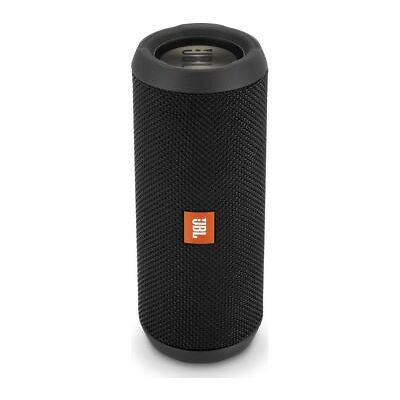 JBL Flip 3 Stealth Portable Bluetooth Speaker - Black - Currys