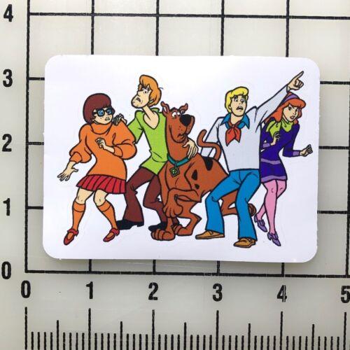"""Scooby Doo 4/"""" Wide Vinyl Decal Sticker BOGO"""