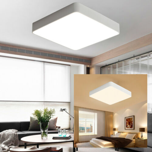 Deckenleuchten Acryl Led Deckenlampe Dimmbar Mit Fernbedienung Deckenleuchte Wohnzimmer Weiss De Buro Schreibwaren Publiciudad Cl