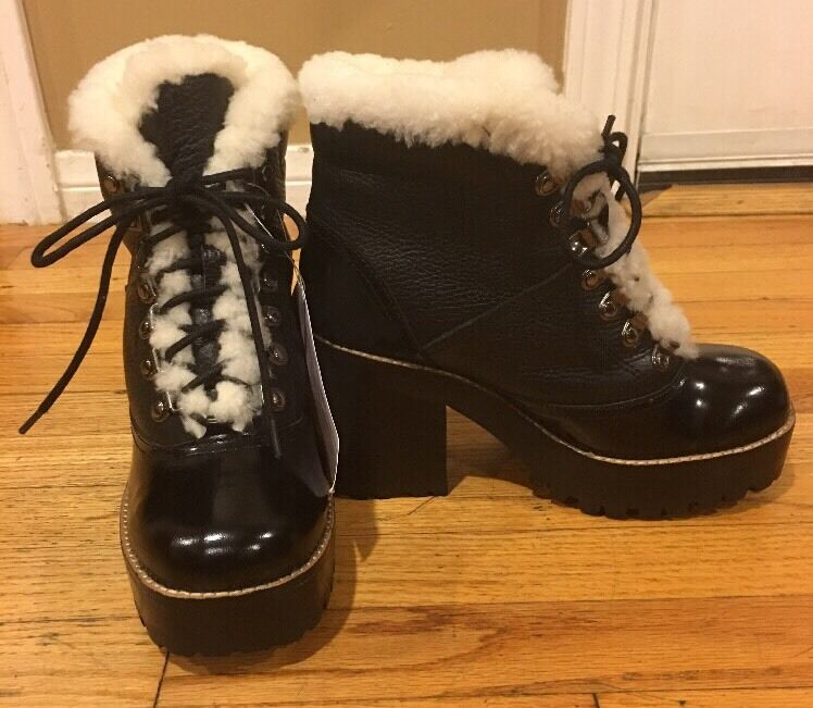 JEFFREY CAMPBELL SEQUOIA -SH WATER PROOF ANKLE BOOT SZ 7.5  ** 265**