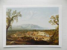 Jakob Philipp Hacket The Ruins of Pompeii 1799 6x4 Inch Postcard New