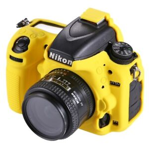 Details about AMZER Soft Silicone Protective Case for Nikon D750 - Yellow