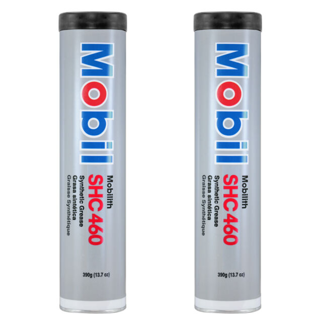 Mobil SHC 460 H/d Synthetic Grease Lithium Complex 13 7 Oz Pack of 2