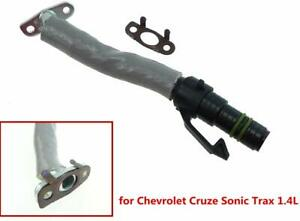 55569839 New For Chevy Cruze Sonic Trax Buick Encore 1.4L Turbo Oil Return Pipe Tube 55587854