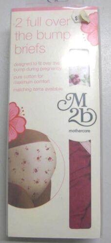 Cotton Mothercare M2b Maternity Mini Briefs 5PK Full Over The Bump 2PK