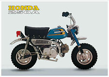 HONDA Poster Classic Z50A Z50 K5 Mini Monkey Bike Suitable to Frame