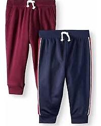 NEW-Garanimals-Tricot-Taped-Jogger-Pants-Navy-Size-24M