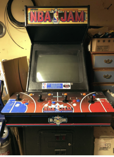 NBA Jam Arcade Game | eBay