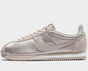 Nike-Classic-Cortez-Nylon-Women-039-s-Sizes-UK-4-amp-5-Particle-Rose-NEW