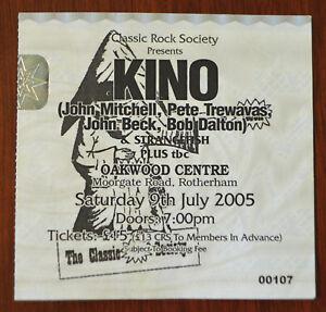 Kino-amp-Strangefish-Ticket-Stub-Classic-Rock-Society-Rotherham-2005-Marillion