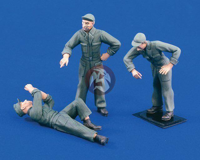 Verlinden 1 35 US Mechanics WWII - Korea (3 Figures) [Resin Model kit] 1558