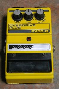 Vintage-DOD-FX50-B-Overdrive-Plus-Guitar-Effects-Pedal-Very-Good-Condition