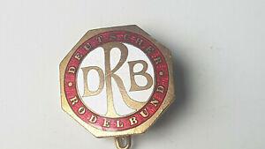 großes Abzeichen Deutscher Rodel Bund,Hersteller Deschler,München super Stück
