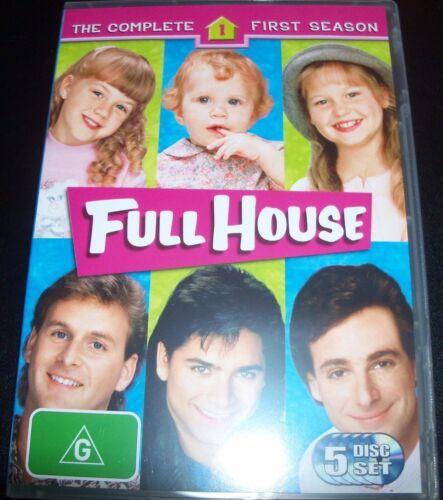 1 of 1 - Full House The Complete First 1st  Season 1 (Australia Region 4) DVD