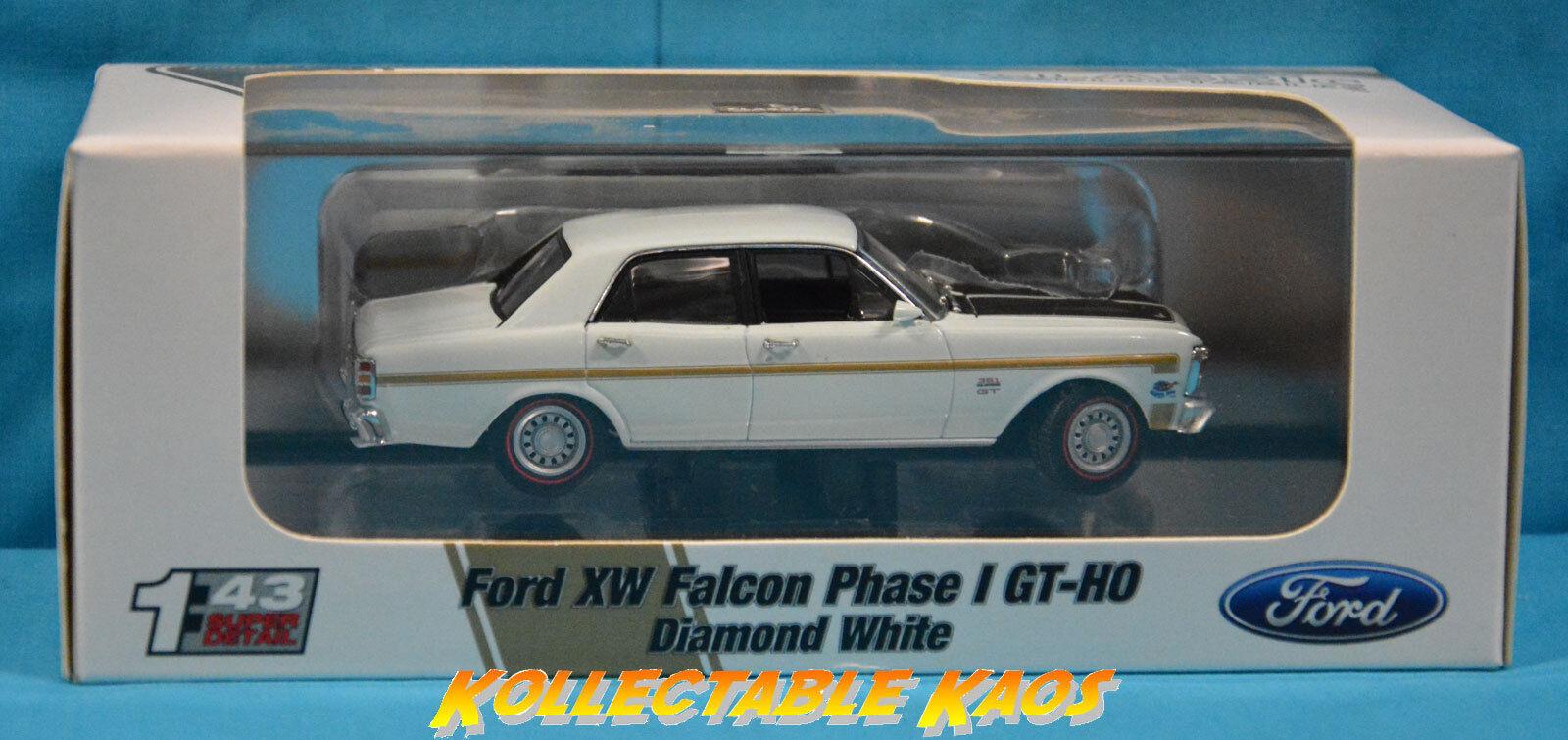 1 43 Classics-ford Falcon XW fase I GT-Ho Diamante blancoo