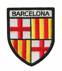 Patche-Barcelone-Barcelona-ecusson-brode-transfert-patch-thermocollant-Barca