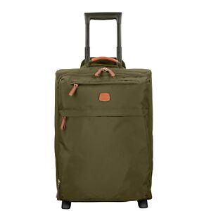 Bric-039-s-X-Travel-2-Rollen-Trolley-Koffer-Koffer-53-cm-olivgruen