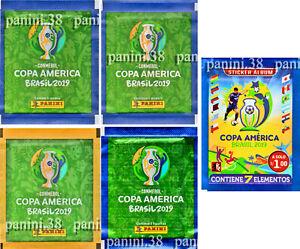 RARE-5-VERSIONS-034-COPA-AMERICA-2019-034-pochette-bustina-packet-tuete-PANINI-3R