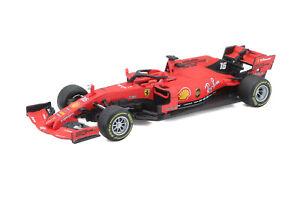 Bburago-1-43-2019-Ferrari-Formula-1-F1-SF90-16-Charles-Leclerc-Modelo-De-Coche-En-Caja